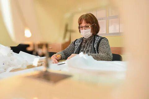3000 многоразовых масок для граждан Иркутска.